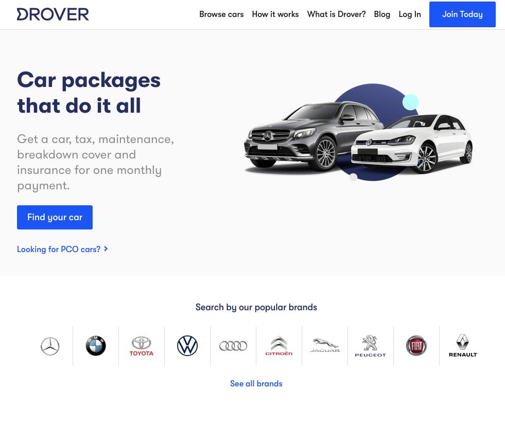 Drover Website