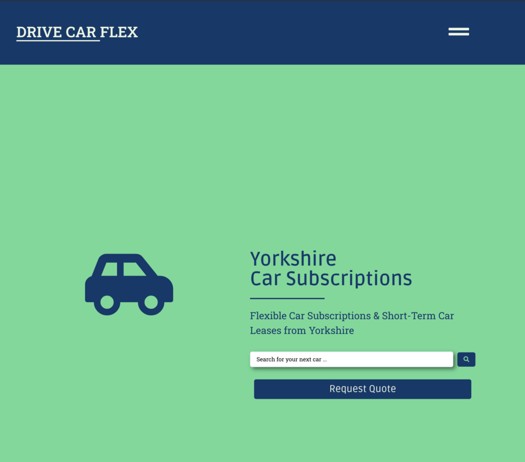 Drive Car Flex - Car Subscriptions