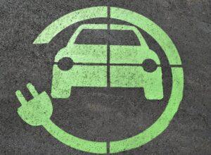 Electric Car Park Symbol